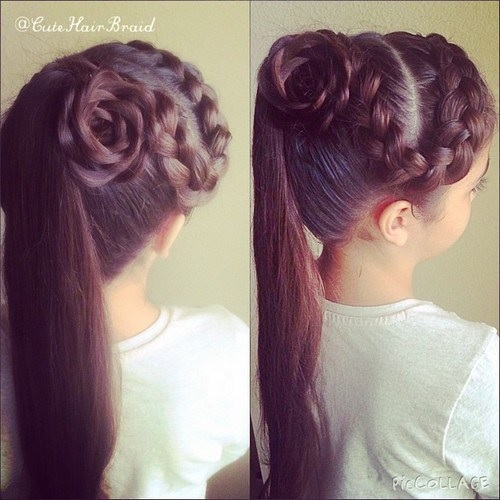 20 Beautiful Braided Hairstyles For Little Girl Fast Simple Hairstyles