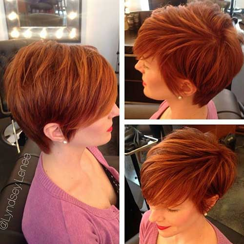 10 Sublime Red Short Cups to Test Hair Cut Trends