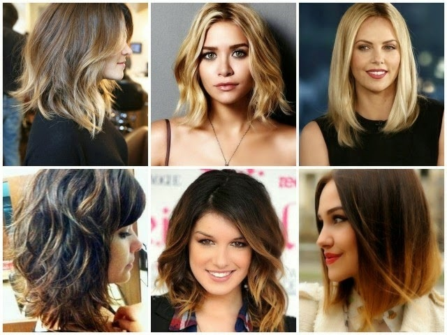 Medium Hair: The Best Sections And Colors in 20 Inspirational Models New Hairstyle Trends
