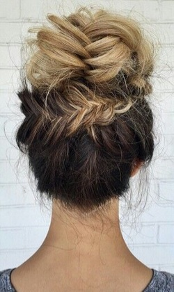 Elegant updos for the end of the year party Hairdressing