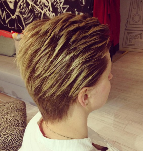 25 Short Hair Sweeping Patterns New Hairstyle Trends