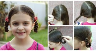 Hairstyle for a little girl Hairstyles For Little Girls