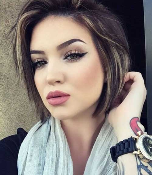30 Beautiful Colors For Short Hair Hair Color Ideas