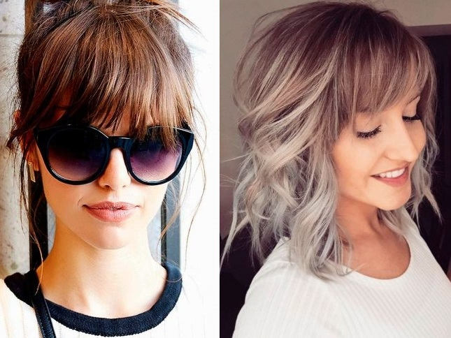 beautiful ideas for cuts and hairstyles with inspired bangs Hairdressing