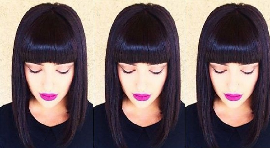 Square Cups With Bangs: The Big Trend Of The New Season Hair Color Ideas