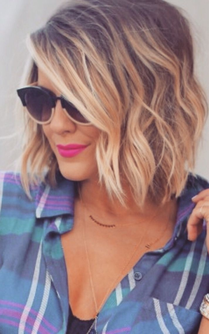 Beautiful Mid-Long Hair- 40 Awesome Models Hair Color Ideas