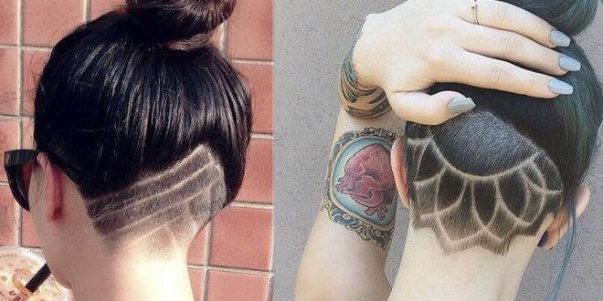 Under Cut Tatoo: The Cup Favorite By Women Who Want A Unique Charm Hair Cut Trends