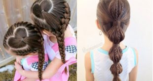 Hairdressing Girls: The best models Hairstyles For Little Girls