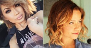 Shaded Hair Chic On Square Cups: Awesome Hair Color Ideas