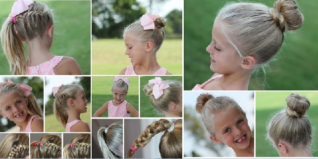 30 Easy and Fast Magnificent Hairstyles for Little Girls Hairstyles For Little Girls
