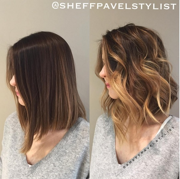 ombre hair: gorgeous mid-length hair colors trend spring New Hair Color Ideas