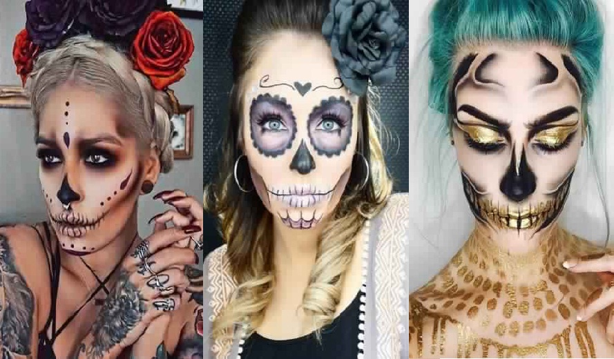 beautiful looks for women at Halloween New: halloween hairstyle New Hairdressing