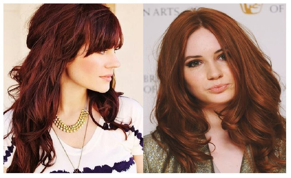 Auburn Hair: The Ideal Trend For This Autome- Here Are The Best Ideas New Hairstyle Trends