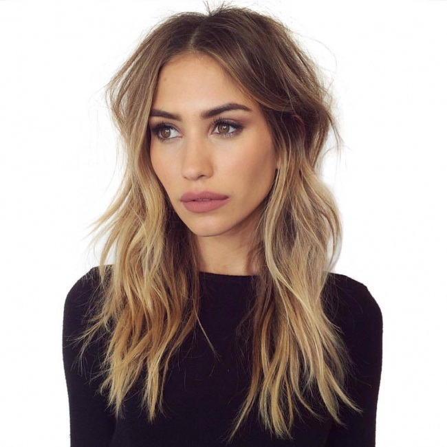 Top 35 Most Inspiring Mid-Length Hair Model Hair Color Ideas