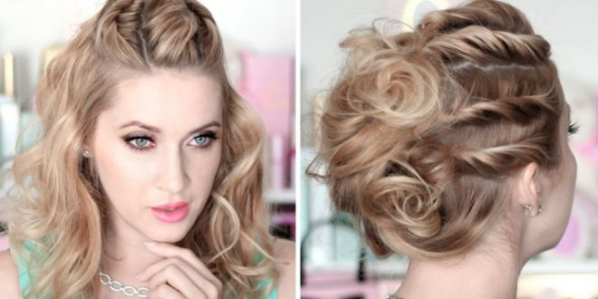 Beautiful Hairstyles For Christmas Party Hairdressing Medium Hairstyles