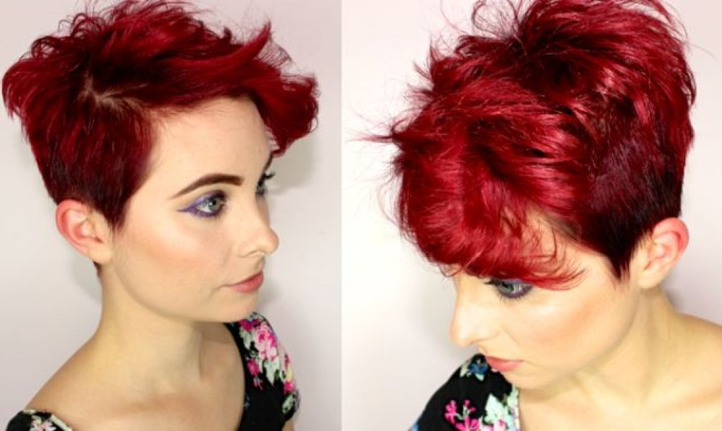 Red Short Cups: An Infinite Charm The Proof In Photos Hair Color Ideas