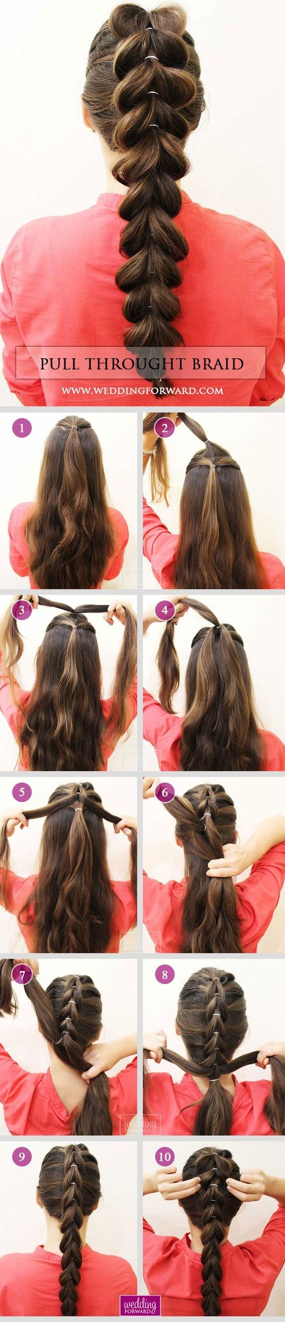 simple hairstyle and fast long hair: 10 models hairstyles and inspired tutorials Fast Simple Hairstyles