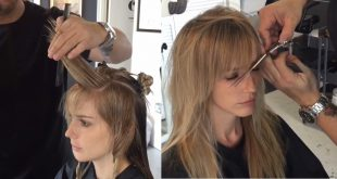 This Hairdresser Has A Nice Way To Reshape The Mid-Long Hair Of His Client Hairstyles Long Hair
