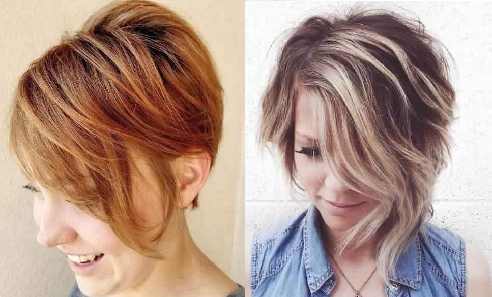 Short Gradient Cups: The Trend of the New Season! Hair Cut Trends