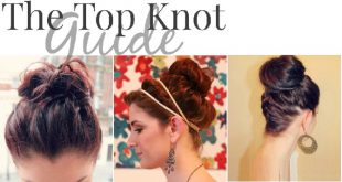 10 Beautiful Chignons To Inspire You! New Hairstyle Trends