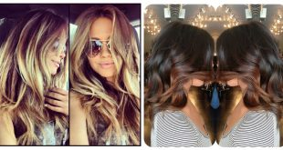 20 Colorations, Shaded Hair Chic And Trendy Hair Color Ideas