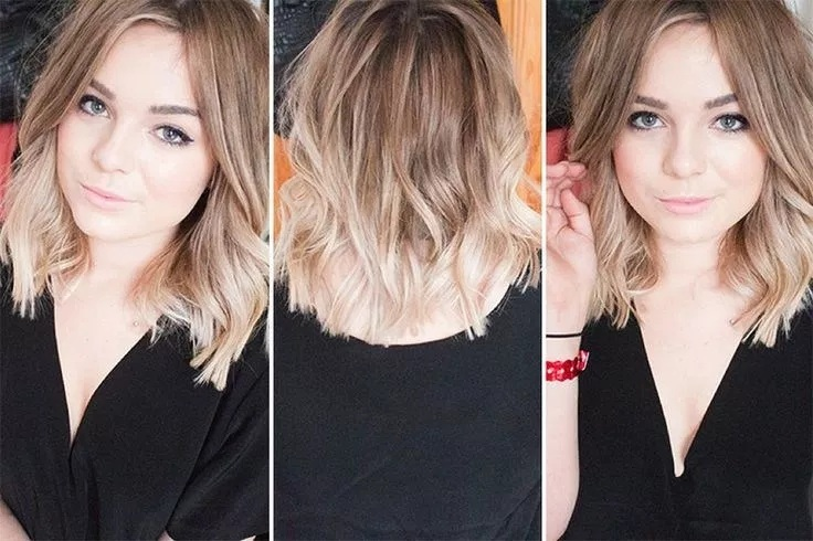 Short cups with beautiful New trend colors Hair Cut Trends