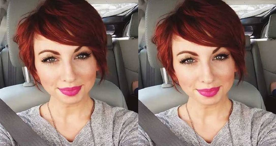 Here is the best color for your short hair!