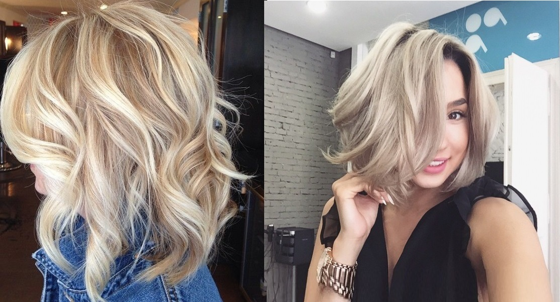 Beautiful Colors for Square cut. Hair Color Ideas