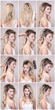 Beautiful Easy and Fast Tutorials for Short Hair Fast Simple Hairstyles