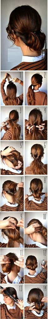 Easy hair styling tutorial New Hairstyle Trends