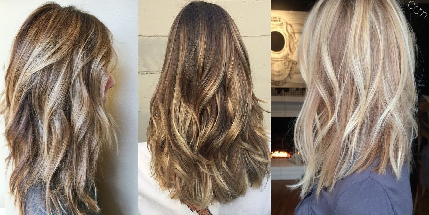 20 Beautiful Mid-Long Hair Patterns Trends New Hair Color Ideas