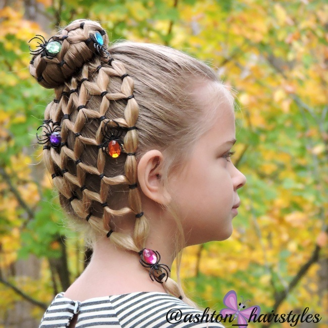halloween hairstyle New: hairstyle little girls for halloween Hairdressing