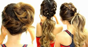 Hairstyles beautiful and easy to do Simple Hairstyles
