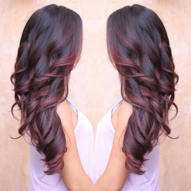 BURGUNDY: The Red Alert This Summer !! Hair Color Ideas