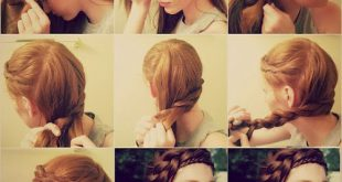 8 Christmas hairstyle ideas - Hairstyle for New Year party Christmas Night Hairstyles