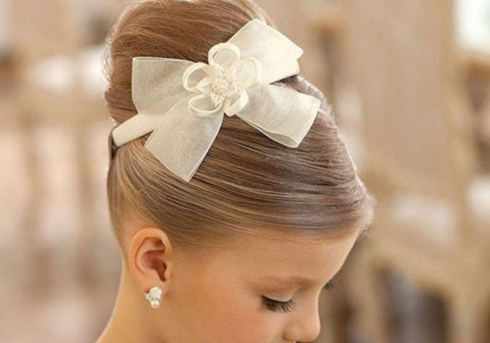 20 Beautiful Wedding Hairstyle for Little Girls New Hairstyle Trends