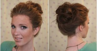 Hairstyle evening bun Hairstyles For Evening