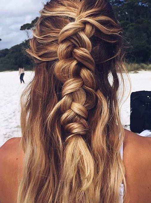 Braided hairstyle for long hair Hairstyles with Braids