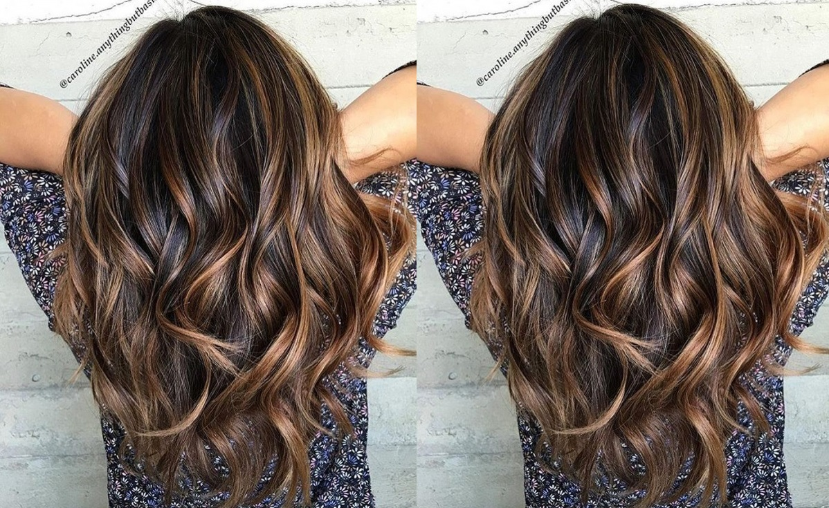 Caramel Sweeping: Stunning Models To Pierce Immediately Hair Color Ideas