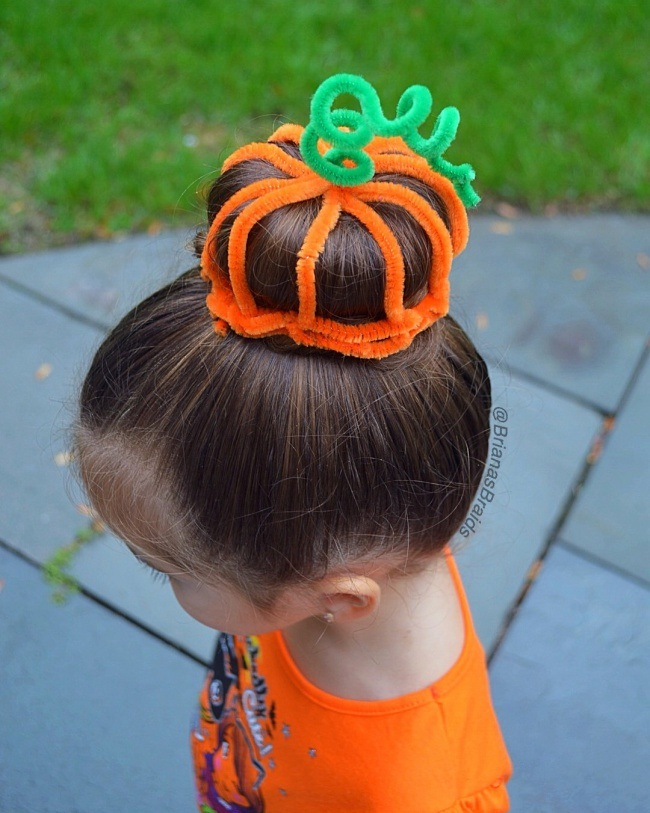 Halloween Hairstyle New Hairstyle Little Girls For