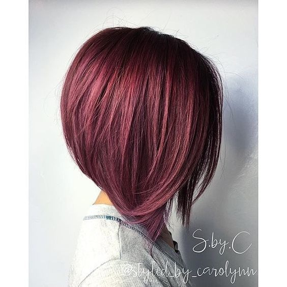 Here are these beautiful square cups that you have to try the new year Hair Color Ideas