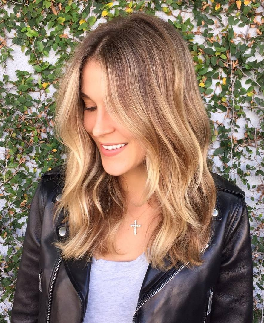 TOP 20 Modern Hair Sweeps That You Have To Try For Christmas Hair Color Ideas