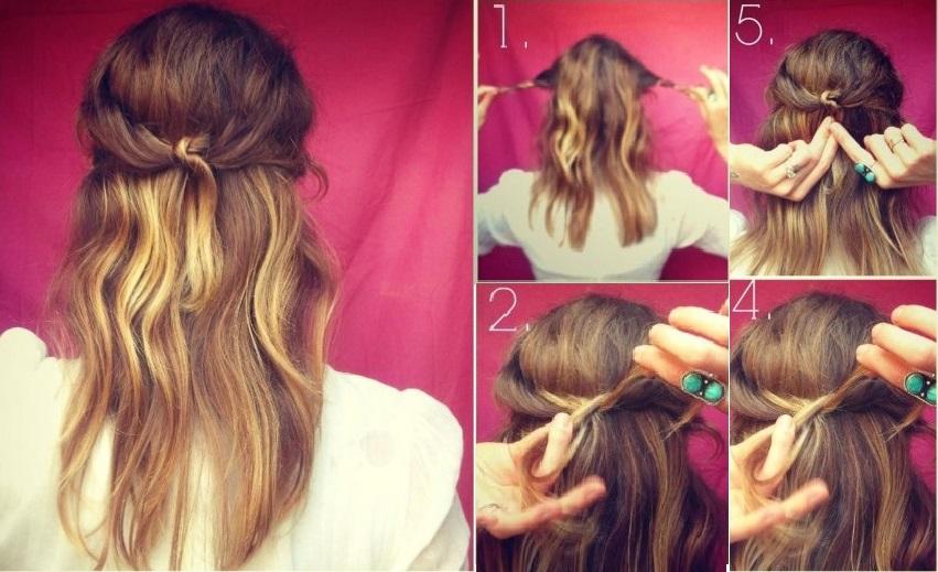 15 Hyper Practice Hairstyles For Back To: Express Hairstyles In Less Than 3 Minutes Fast Simple Hairstyles
