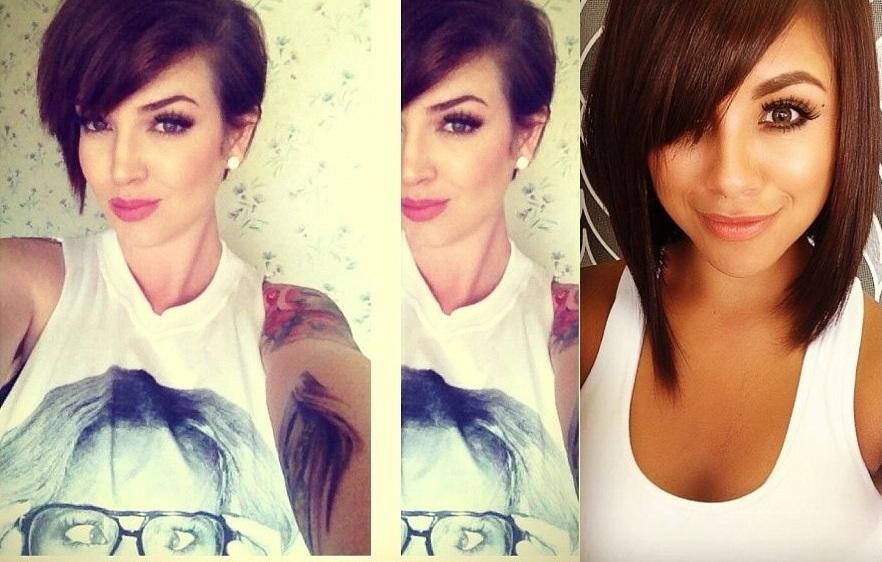 35 beautiful models short cuts