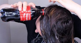 She Rinsed Her Hair With Coca Cola, The Results Are Really Amazing! Hair Styling Tips