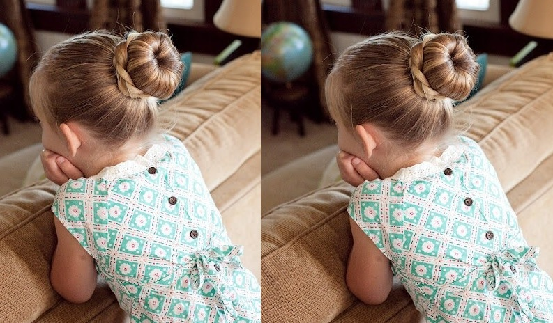 Beautiful Hairstyles For Little Girls - 10 Beautiful Models Hairstyles For Little Girls