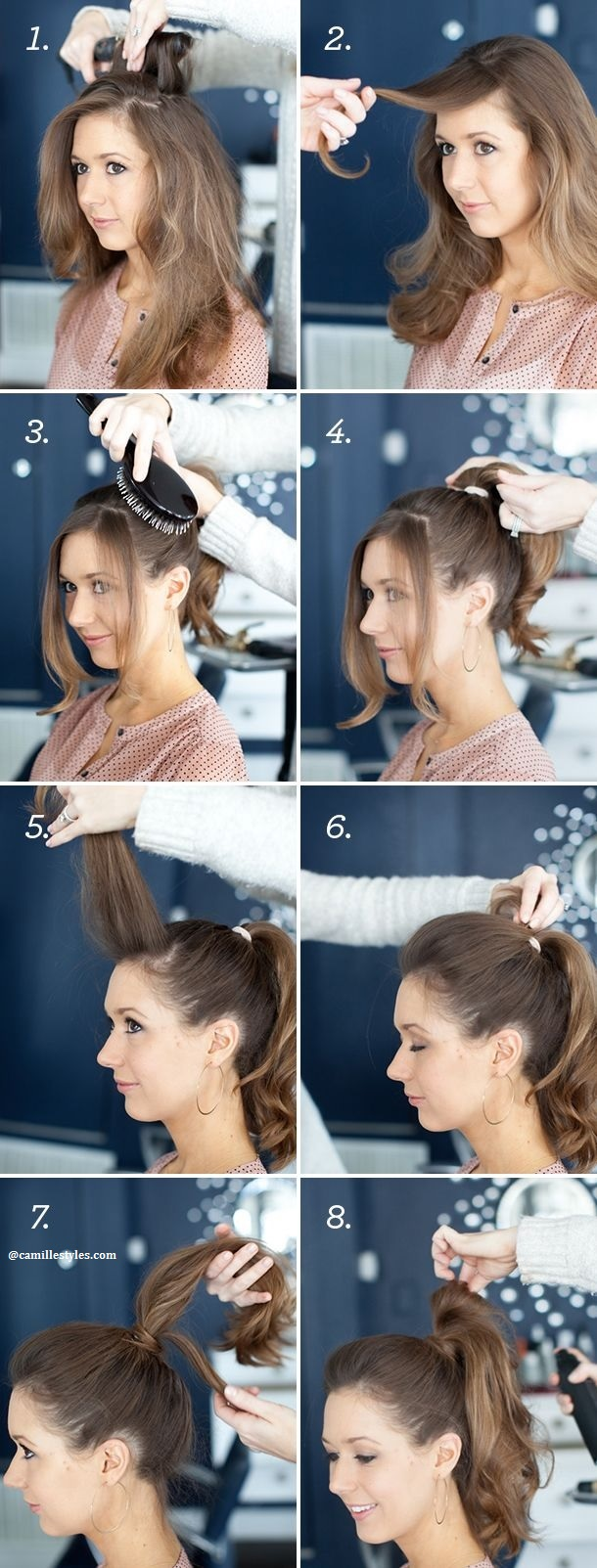 More Than 20 Hairstyle Models To Go To Work That You Can Achieve In Less Than 10 Minutes New Hairstyle Trends