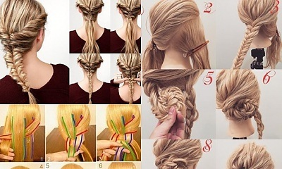 Woman Hairstyle Tutorial: Easy Hairstyles Photos Fast Simple Hairstyles