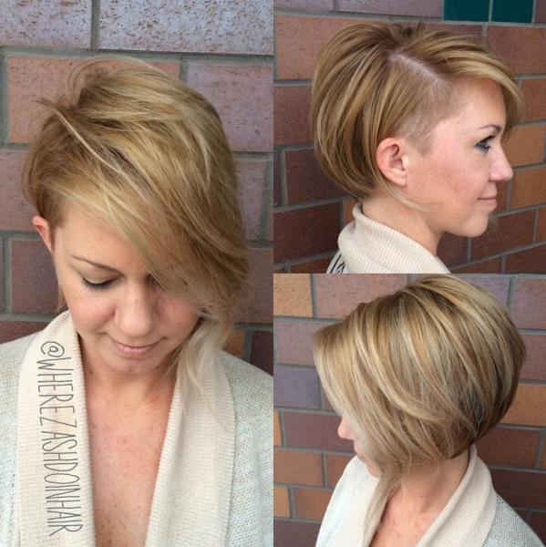 Asymmetrical Short Cups For Summer New Hair Cut Trends