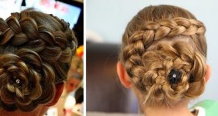 Braid for little girl - simple and fast hairstyle little girl Hairstyles For Little Girls